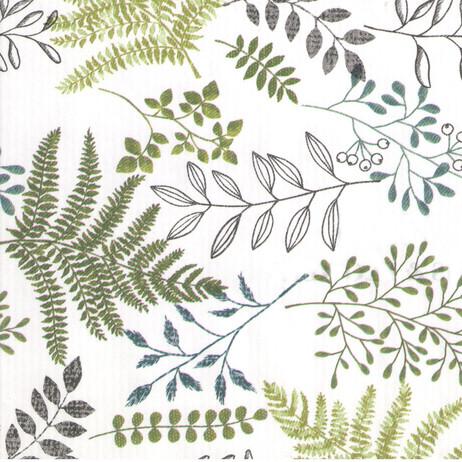 Z4561 Ferns & Flowers