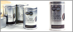 Tin-sea island coffee