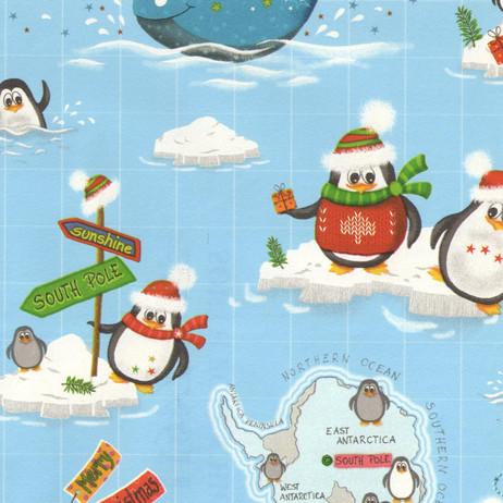 Z4611 South Pole Christmas