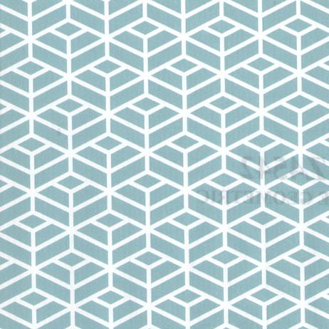 Z4542 Blue Geometric