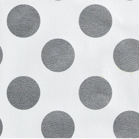 GW9166 Silver Polka Dots