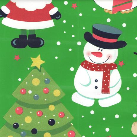 L2814 Santa on Green