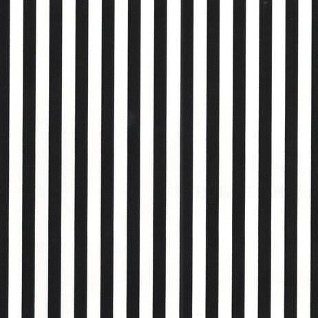 J6449 Black White Stripe