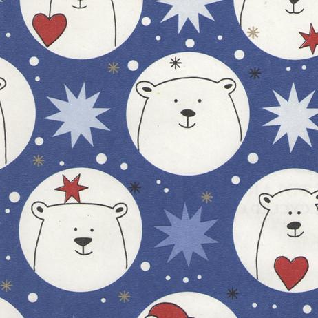 Z4951 Blue Polar Bears