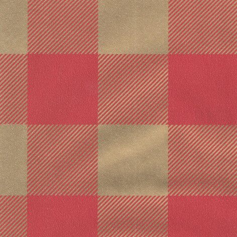 C4830 Burgundy Gold Plaid