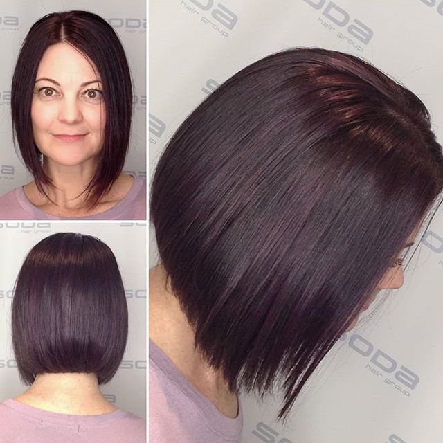 Gorgeous violet hues for spring! Hair do