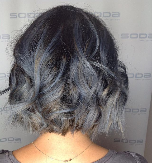 Smokey #bob by Katie 🌫#hair #salon #sod