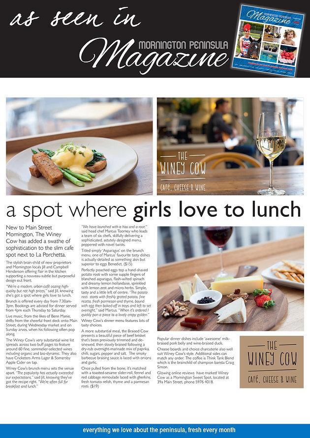A SPOT WHERE GIRLS LOVE TO LUNCH | Mornington Peninsula Cafe