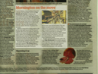MORNINGTON ON THE MOVE