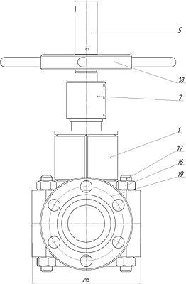 Эскиз ЗПРМ с фланцем сбоку.jpg
