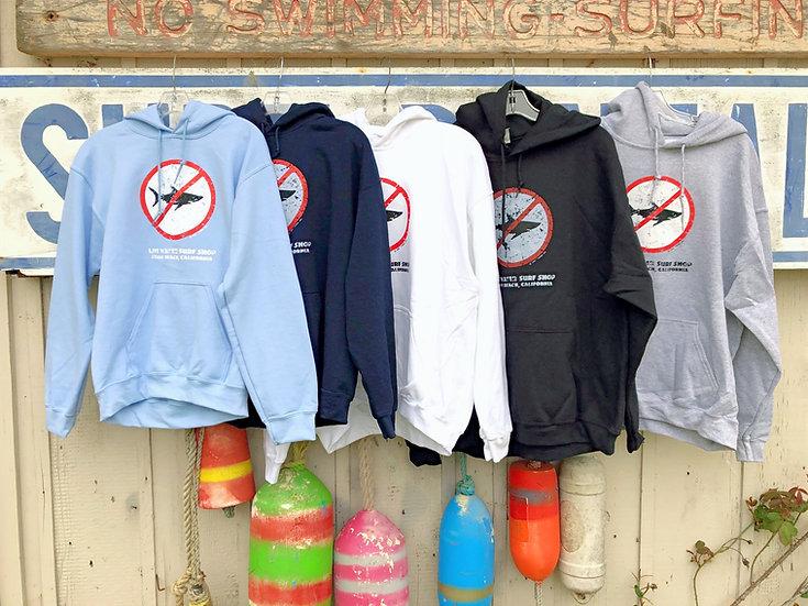 No Sharks Adult Sweatshirt
