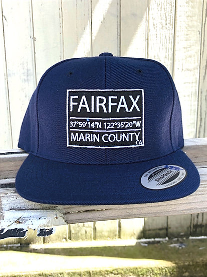Live Water Navy Fairfax Trucker