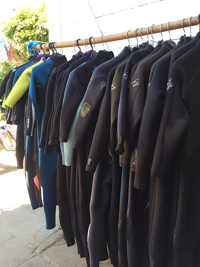 Youth Wetsuit Rental