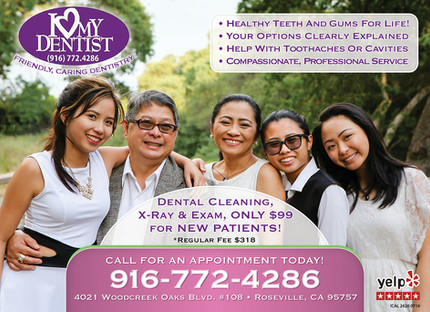 I Love My Dentist Ad