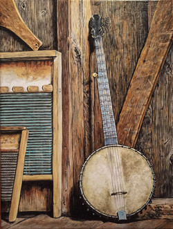 Banjo Stil life