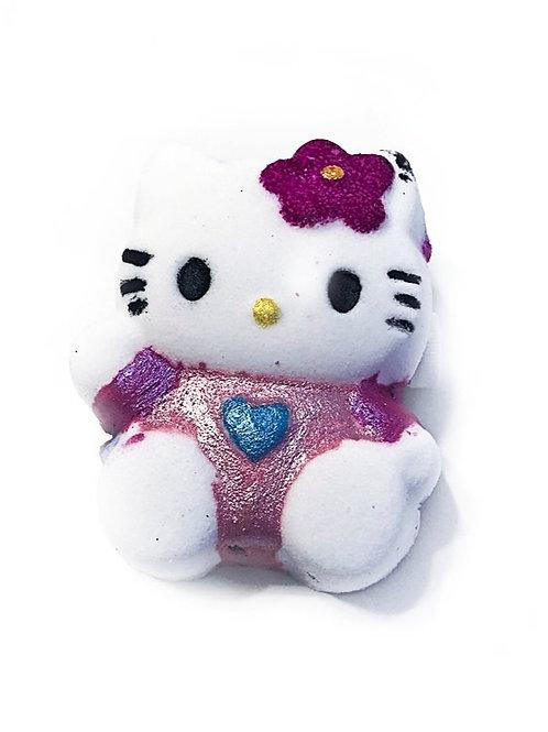Surprise kitty bath bomb