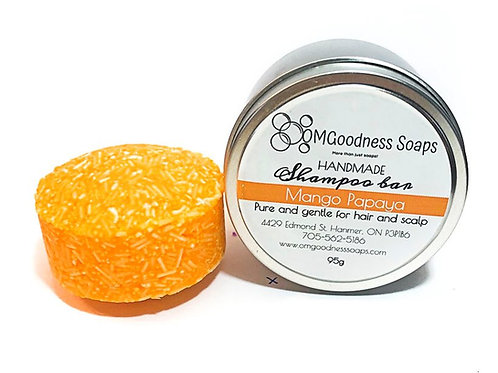Solid Shampoo Bar - Mango Papaya