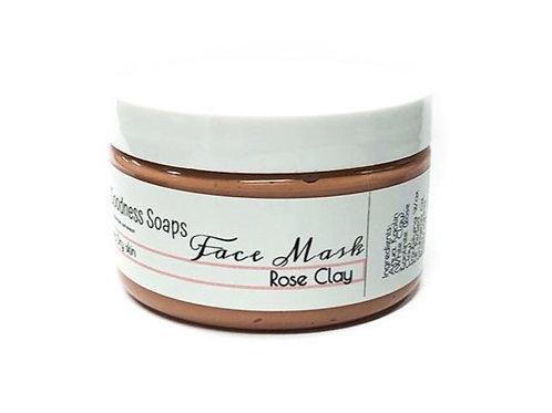 Facial Mask - Rose Clay