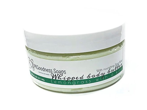 Lemongrass with a kick Whipped body butter