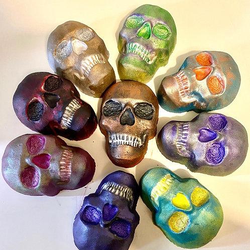 Skull Bath bomb