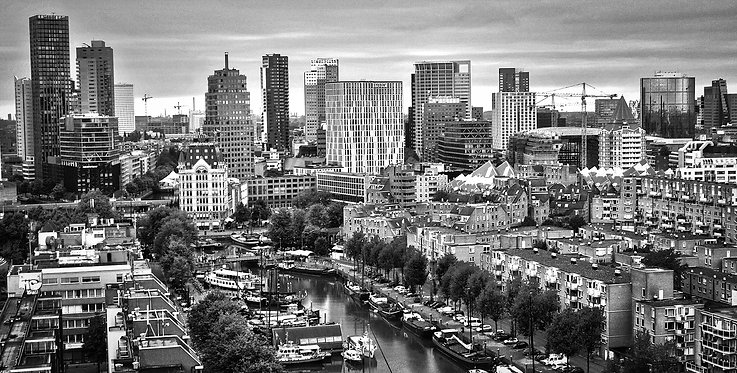 Rotterdam 'Stadsgezicht'.