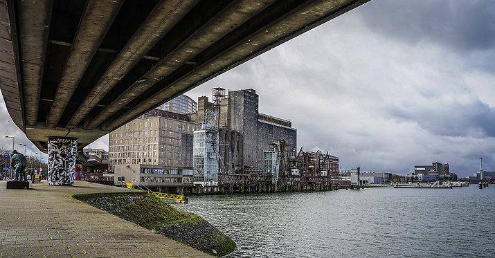 Rotterdam doorzicht 'Maassilo'