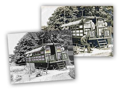 Oude foto's dupliceren en retouchere.