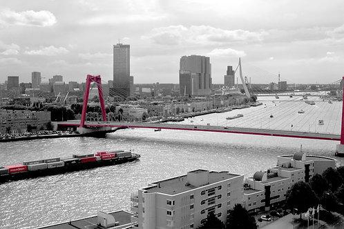 Rotterdam Skyline 'Blik van boven'