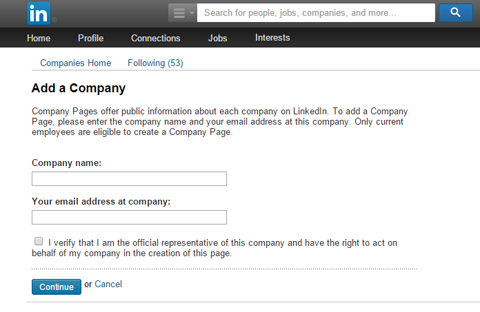 Enter your companys official name and your work email address.png