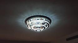 גוף תאורה לד ענק צמוד תקרה דלוק