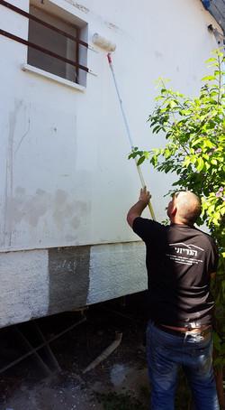 שיפוץ בית הילדים בקיבוץ מפלסים בהתנדבות 10