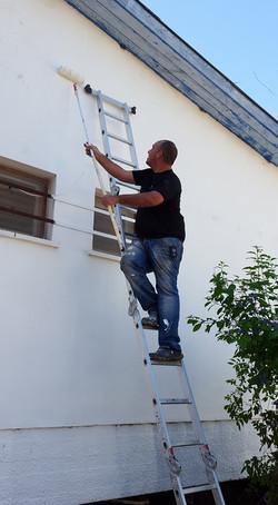 שיפוץ בית הילדים בקיבוץ מפלסים בהתנדבות8