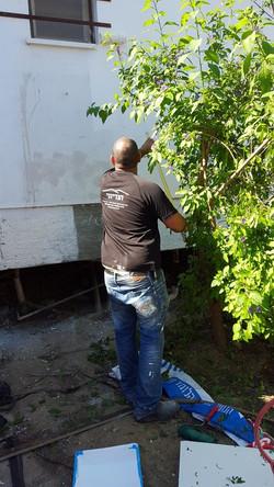 שיפוץ בית הילדים בקיבוץ מפלסים בהתנדבות 7