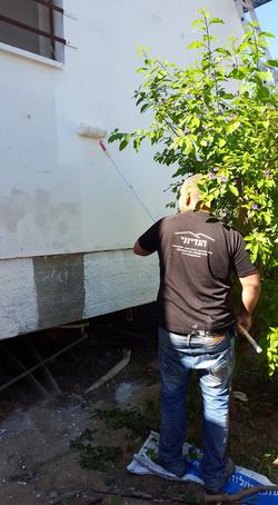 שיפוץ בית הילדים בקיבוץ מפלסים בהתנדבות 6