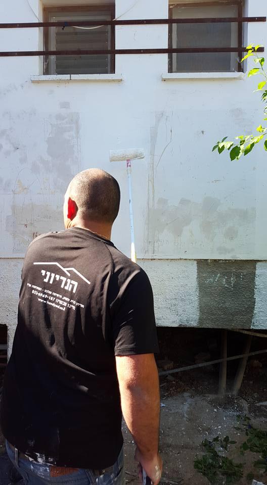 שיפוץ בית הילדים בקיבוץ מפלסים בהתנדבות 3