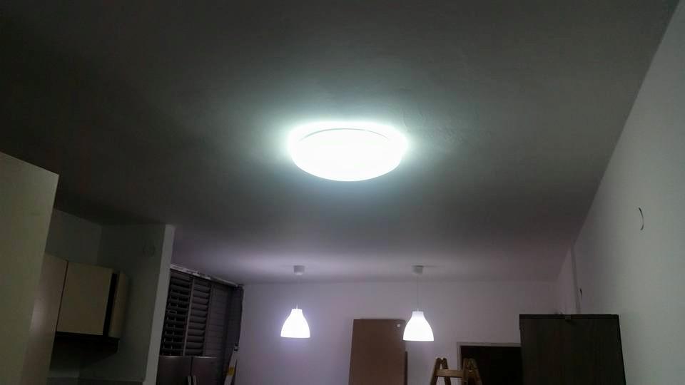 מנורה צמודת קיר