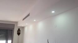 הכנת קו חשמל לתאורת לד בתקרת גבס סגורה