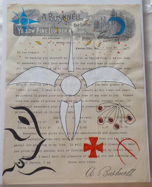 Ledger Art White Swan