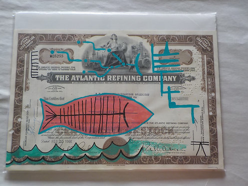 Ledger Art Pink Fish
