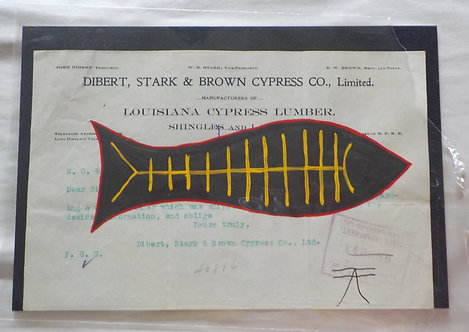 Ledger Art Black Fish