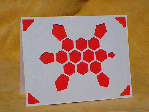 Geoturtle Greeting card
