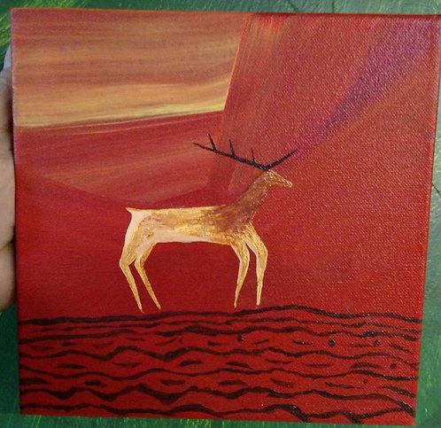"""HELLK"" Painting"