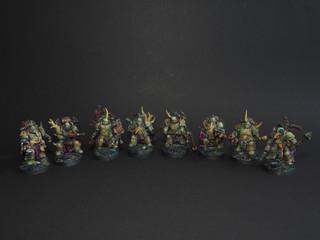 Deathguard marines