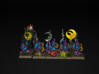 Nightgoblins with spears