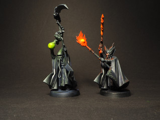 Battle Wizards OSL painted