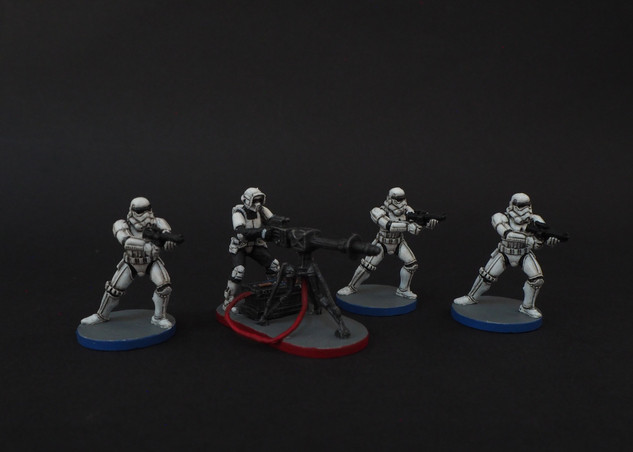 Stormtroopers with E-Web Engineer