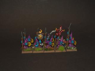 Nightgoblins with spear