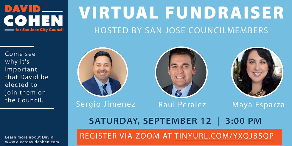 Fundraiser with San Jose Councilmembers