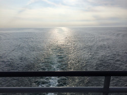 The ferry across Lake Michigan.