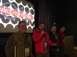 Q&A at Sundance.